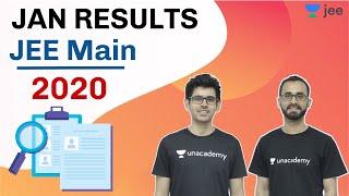 JEE Main 2020 Results - Jan | NTA update on JEE | Unacademy JEE | Sameer Sir | Jayant Sir