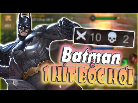 [Liên Quân] Cầm Batman Đi Rừng Tàn Hình Bát Ad Liên Tục Không Cho Chơi Game Và Cái Kết