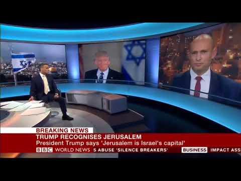 """בנט בBBC: """"ירושלים היתה עיר הבירה שלנו הרבה לפני שלונדון  נוסדה"""""""