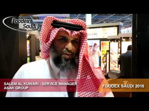 Foodex Saudi 2016 – Salem Al Kuwari – Service Manager – Asak Group