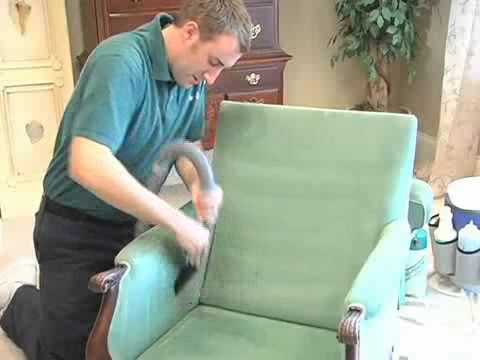 12 Step Upholstery Cleaning Process by Aerosteam Carpet & Upholstery Care of Jacksonville, FL