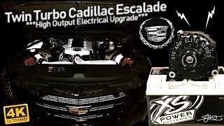 Twin Turbo Cadillac Escalade - High Output Electrical Upgrade! Color Matched Juice 4kHD