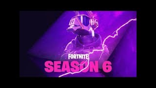 Fortnite - Season 6 Teaser! (DJ Llama Skin)