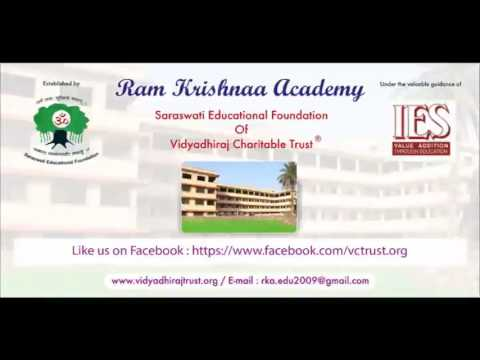 Ram Krishnaa Academy of Vidyadhiraj Charitable Trust, Panvel (rural school)