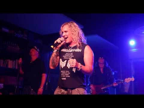 Ralph Saenz aka Michael Starr of Steel Panther performs Van Halen Unchained