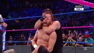 HINDI - Shinsuke Nakamura & Randy Orton vs. Kevin Owens & Sami Zayn: SmackDown LIVE, 17 Oct., 2017