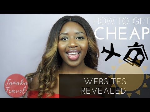 HOW TO GET CHEAP FLIGHTS, ACCOMMODATION & HOLIDAYS | WEBSITES REVEALED