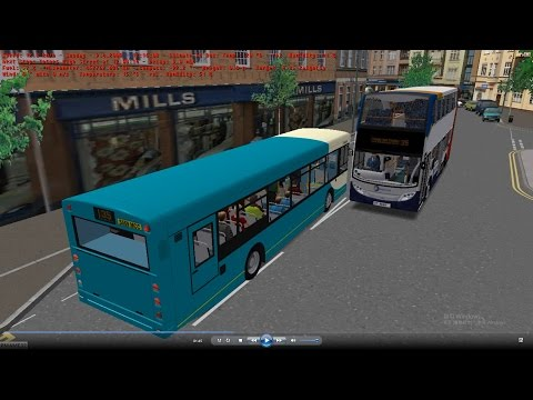 Omsi 2 tour (702) UK Westcountry 35 Totnes Railway Station - Paignton @ Arriva Man 18.220 ALX300