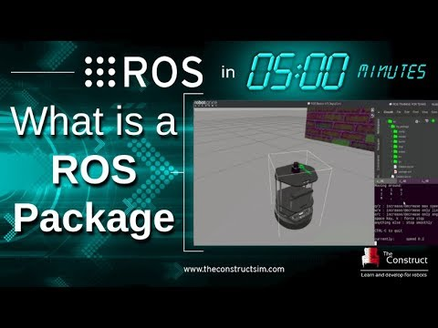 [ROS in 5 mins] 013 - What is a ROS Package