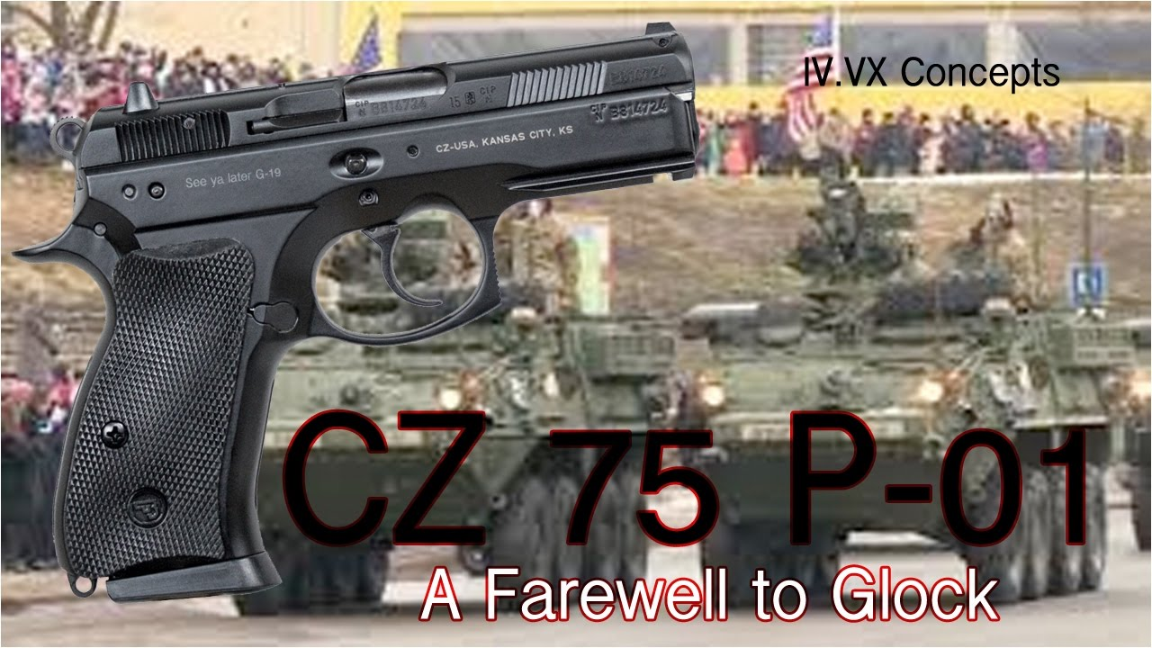 Cz 75 P 01 First Look A Farewell To Glock Youtube