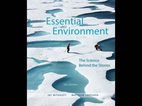 Ch. 1 Intro. To Environmental Science LECTURE VIDEO