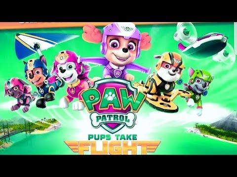 PAW Patrol Pups Take Flight - Neckelodeon Fun Kids Game & Paw Patrol Video Gameplay