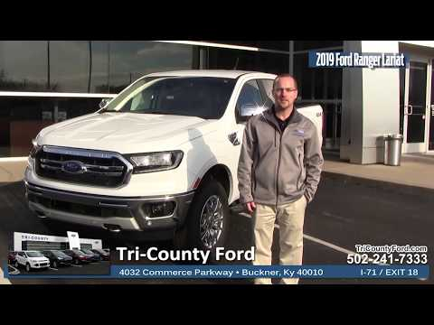 All New! 2019 Ford Ranger Lariat at Tri-County Ford
