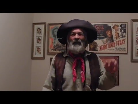 Gabby Hayes sings Old Cowhand
