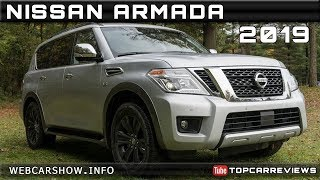 2019 NISSAN ARMADA Review Rendered Price Specs Release Date