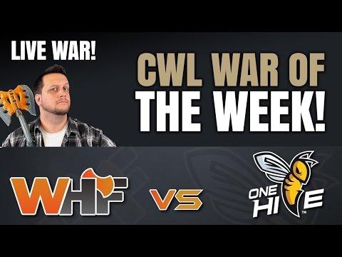 WHF vs. ONE HIVE - WAR OF THE WEEK