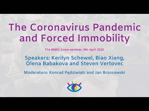 MMO Seminar: The Coronavirus Pandemic And Forced Immobility, 9th April 2020