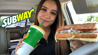 HUGE SUBWAY MUKBANG