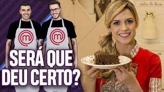 FIZEMOS O BROWNIE DE MELADO DE CANA DA BECA MILANO DO SBT! | Virou Festa