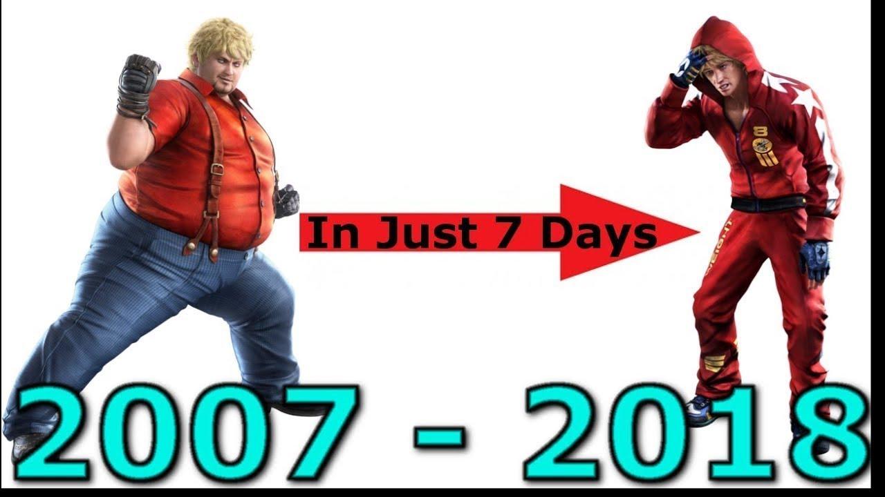 Bob Richards Evolution From Tekken 6 To Tekken 7 Youtube