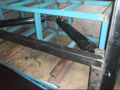 Aluminum Can Baler Build