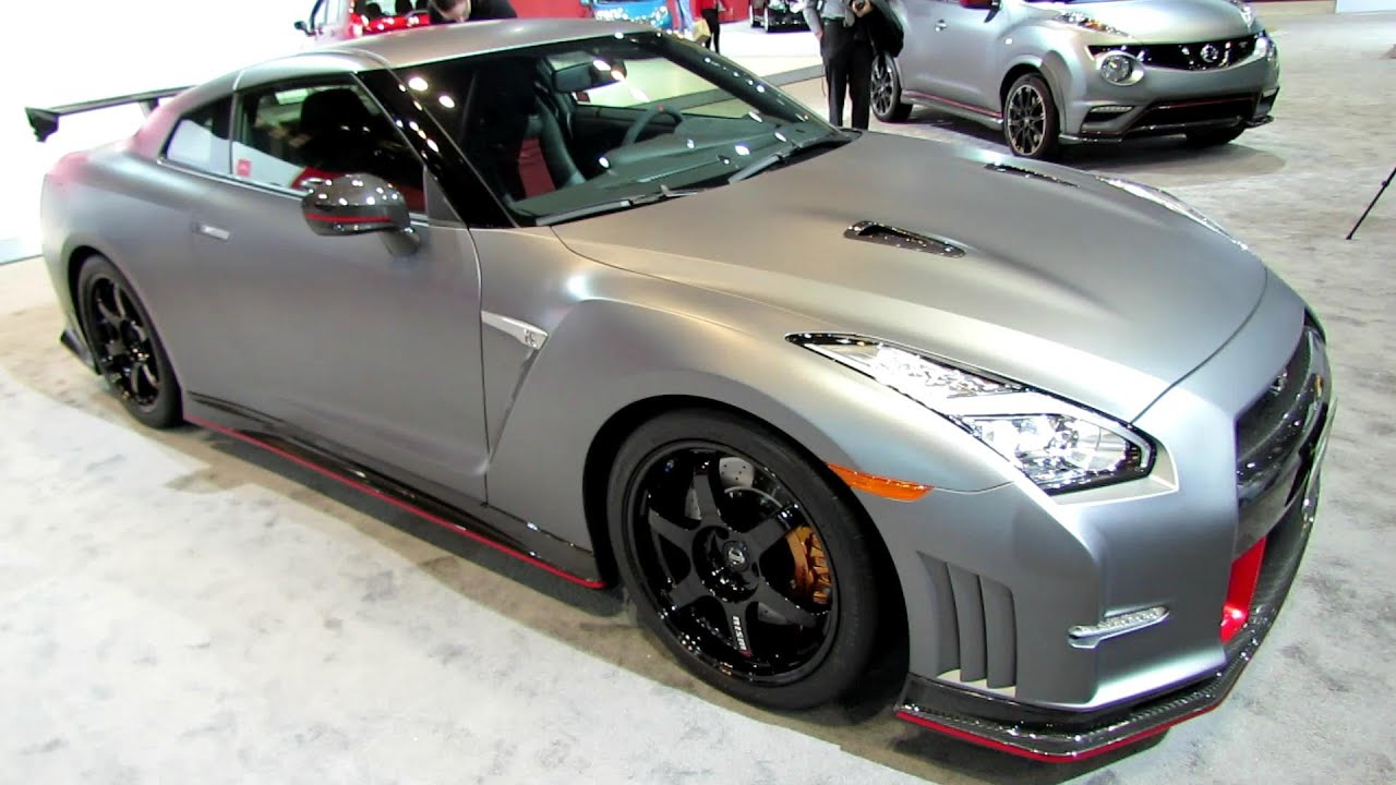 2015 Nissan GT R Nismo   Exterior And Interior Walkaround   2014 Chicago  Auto Show