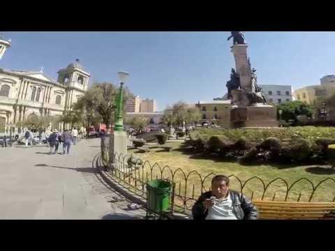 LA PAZ, BOLIVIA plaza de armas