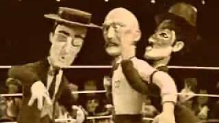 Celebrity Deathmatch - Buster Keaton vs. Charlie Chaplin