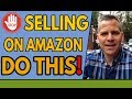 (IMPORTANT) Before Your Sell A Product on Amazon FBA Do THIS