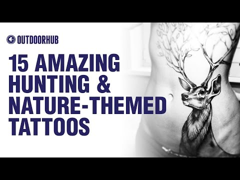 15 Amazing Hunting and Nature - Themed Tattoos