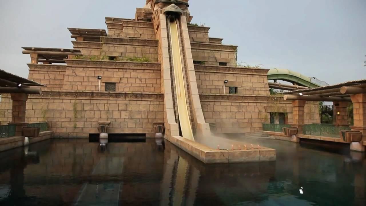Leap Of Faith Water Slide AquaventureAtlantis Palm Dubai UAEShot On Canon 5D Mark 2 Camera