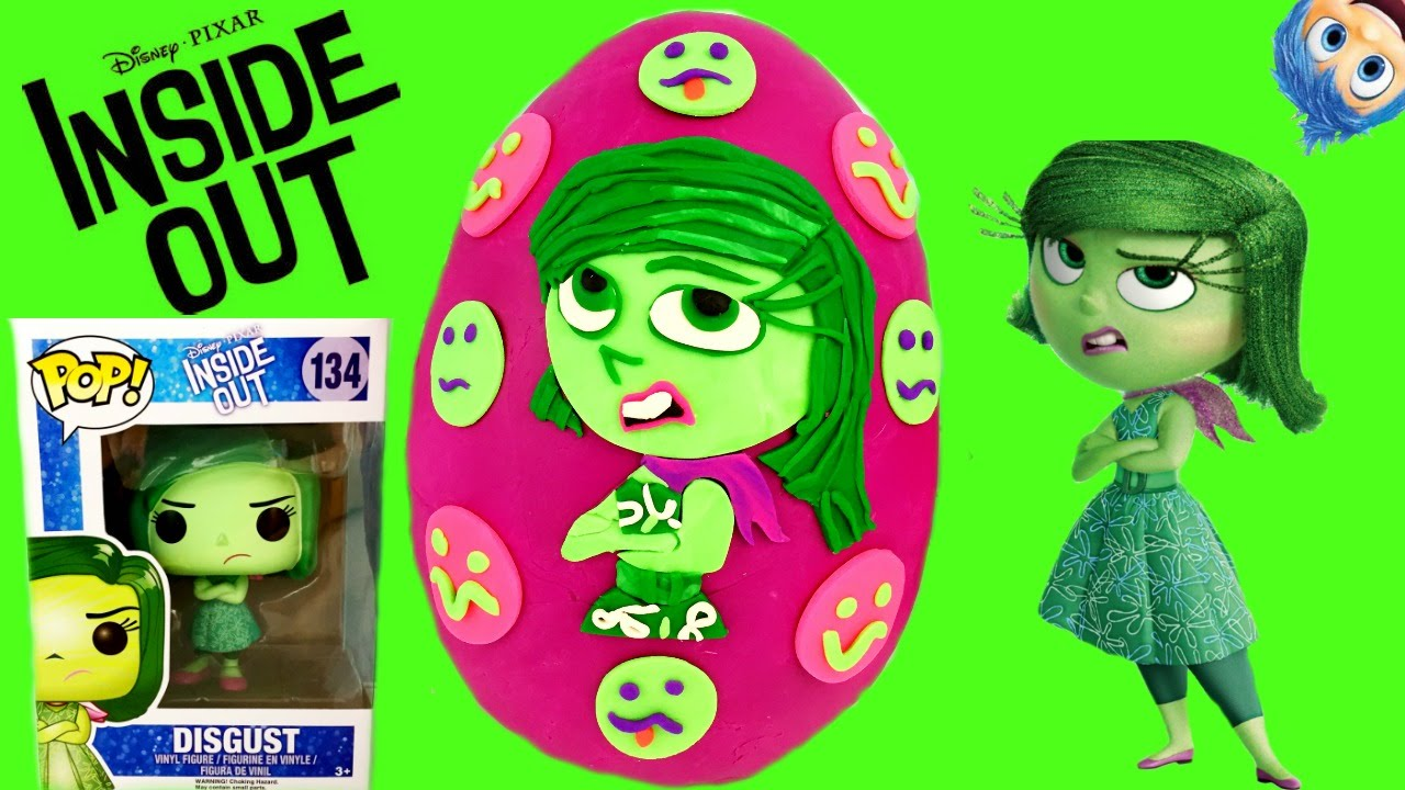 Disney Pixar S Inside Out Disgust Play Doh Surprise Egg