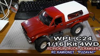 WPL C24 1/16 Kit 4WD RC Pickup Truck-Crawler (Bangood)