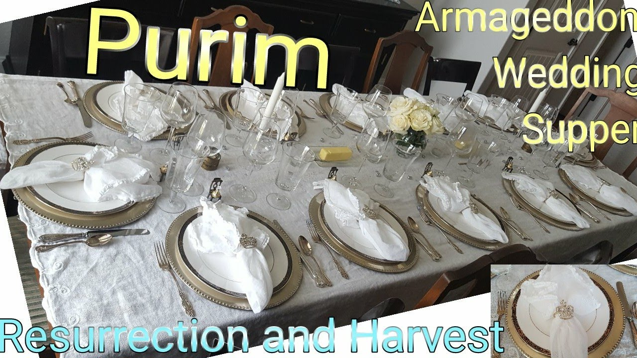 Purim - Wedding Supper, Armageddon, Resurrection and Harvest LEELAND JONES 1MAR21