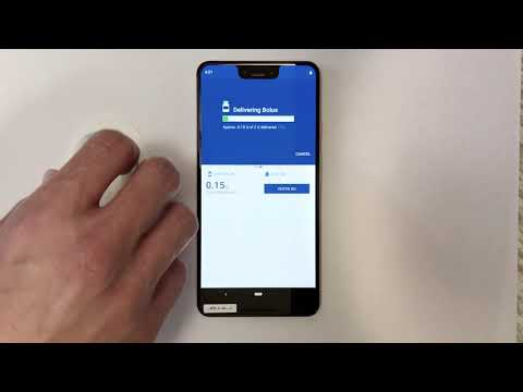 """The Omnipod DASH™ System Demo Using """"Protected Confirmation"""" Security On Google Pixel 3"""