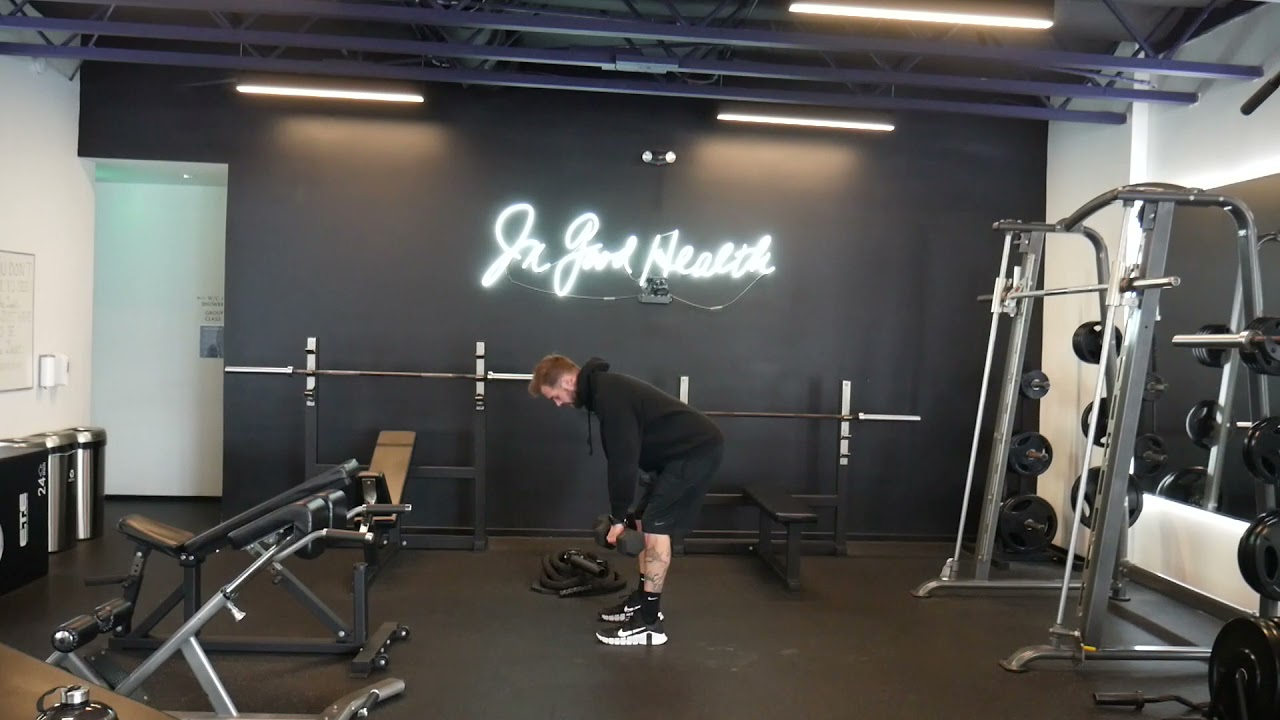 How to perform: DB Deadlift to Row