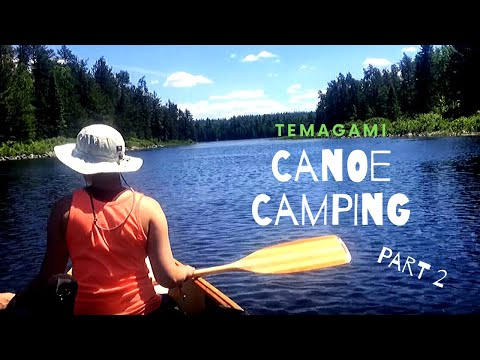 6 Day Canoe Trip To Temagami Ontario Part  2