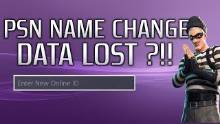 UPDATE!! - PSN Name Changes | What We Lost Vs. What Others Have Lost