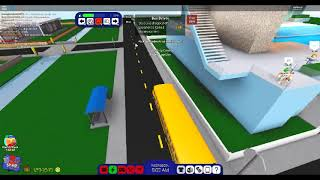 Routine of a school bus driver!`Roblox rocitizens