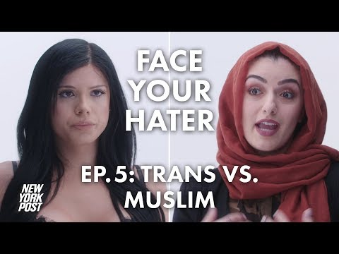 Transgender Woman Debates Muslim Over Islam And LGBT Issues | Face Your Hater | New York Post