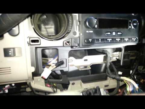 Remove Dash Cluster 2010 Superduty