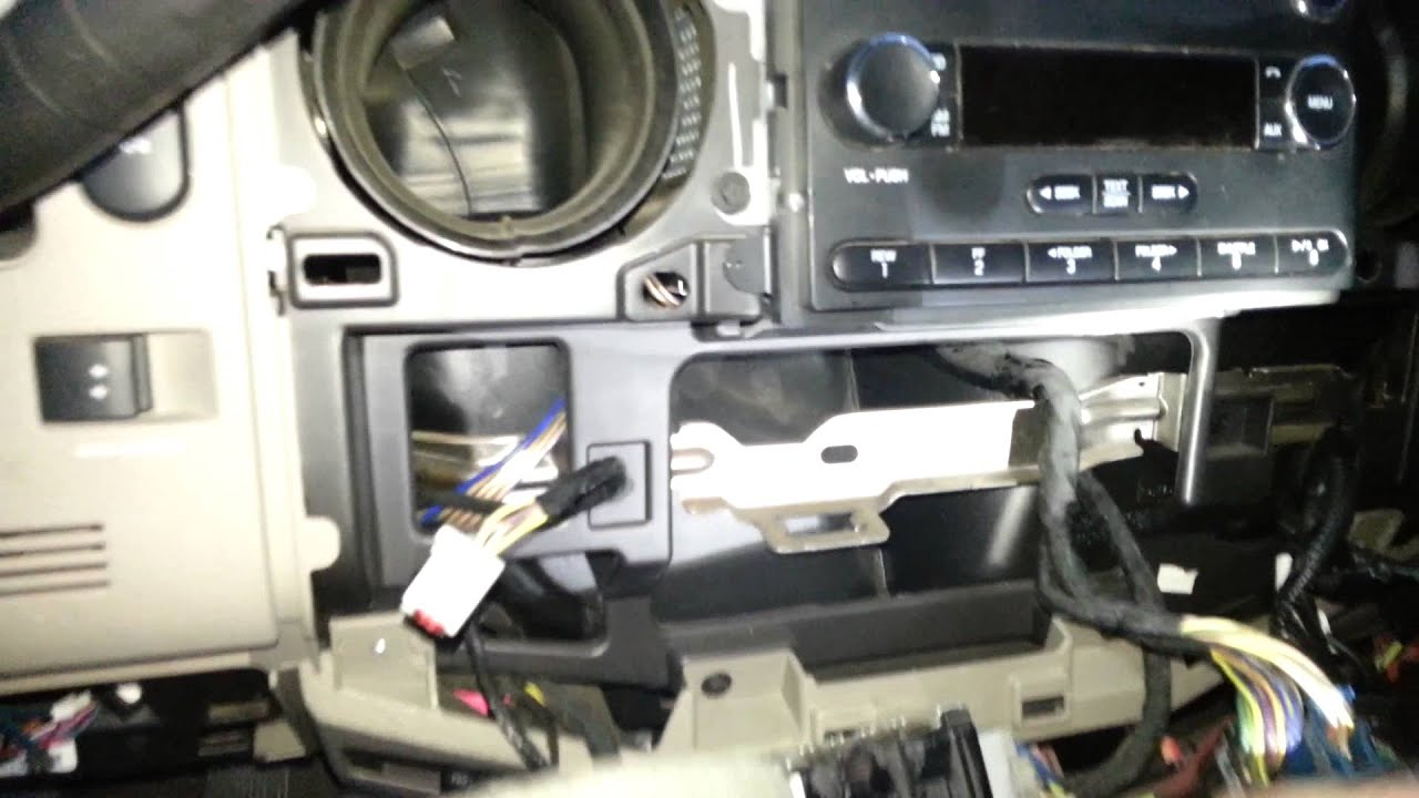 Remove Dash Cluster 2010 Superduty Youtube