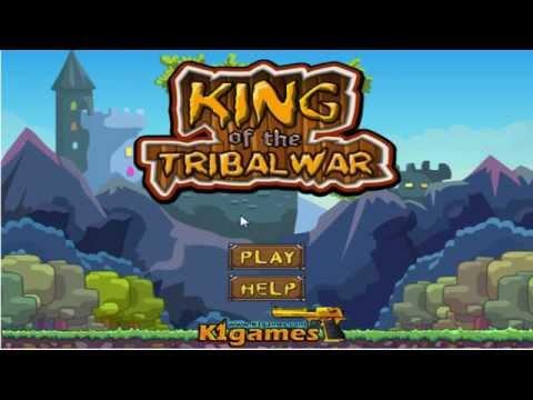 King of the tribal war - простенькая стратегия