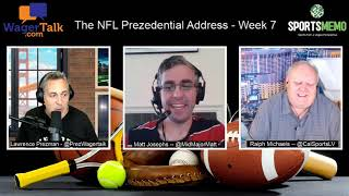 2020 NFL Week 7 Predictions and Odds (Free NFL Picks on Every Week 7 Game) | Prezidential Address