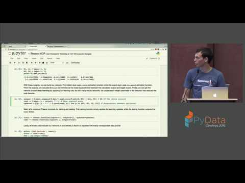 Ben Bolte | Deep Language Modeling for Question Answering using Keras
