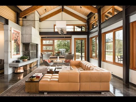 Modern Mountain Estate in Jackson, Wyoming | Sotheby's Inter