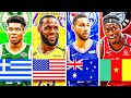 RANKING THE BEST NBA PLAYER FROM EACH COUNTRY IN 2020!