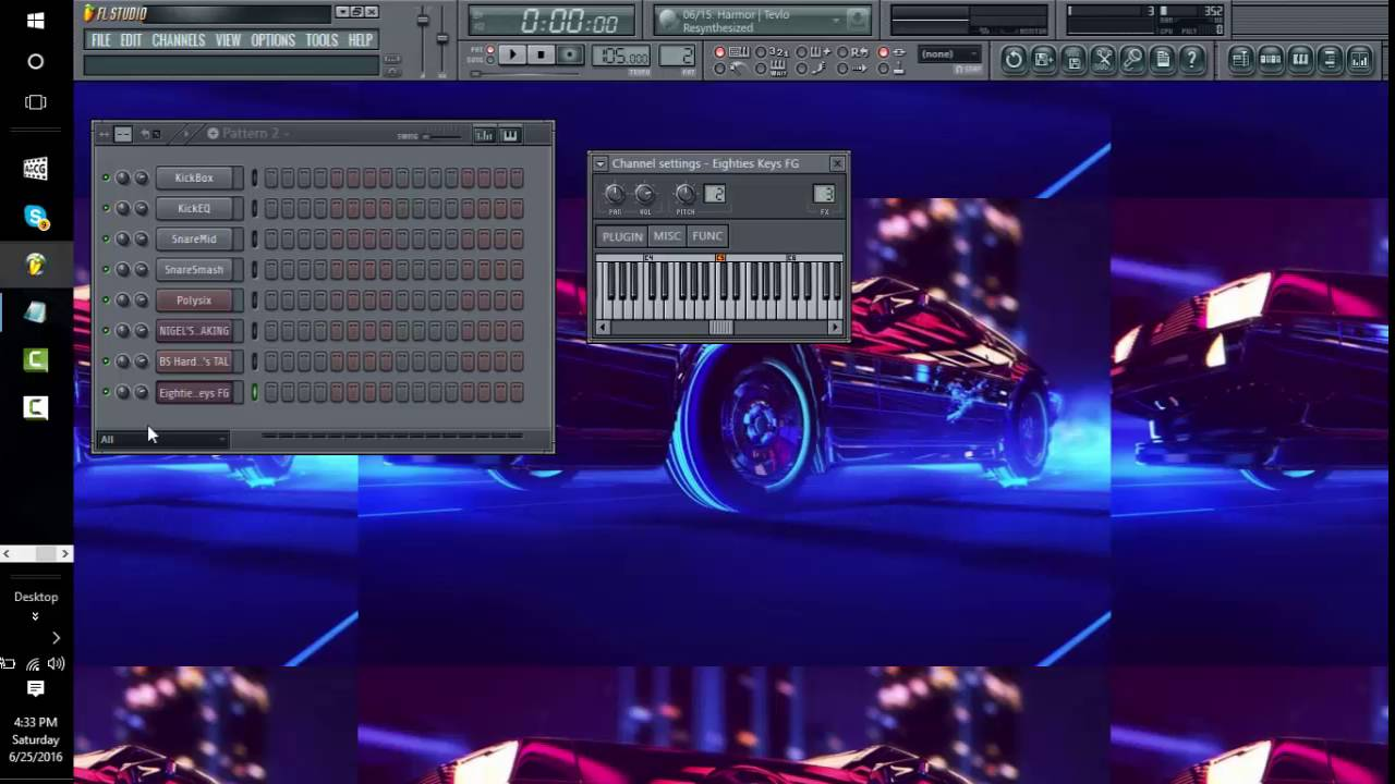 80s Retro Synthwave Tutorial: FL Studio
