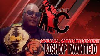 Bishop's Declaration... (Monday Night Mic)