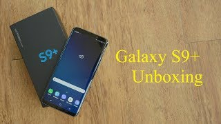 Samsung Galaxy S9+ Unboxing: Display, dual aperture camera, AR Emoji and all cool features